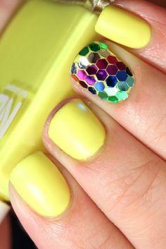 Neon, Rainbow Glitter and Matte