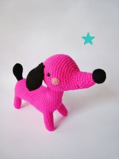 (Sold out but pinned because it's so cute. Crochet Bear, Cute Crochet, Crochet For Kids, Crochet Animals, Crochet Crafts, Crochet Dolls, Knitting Projects, Crochet Projects, Sewing Toys