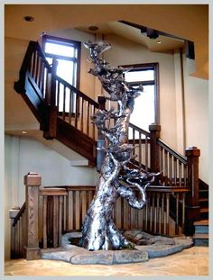 CrowWorks Design : Indoor Fountain