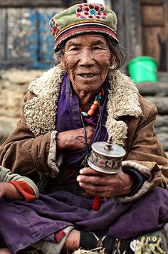 Nepal - Tamang Heritage Trail | line x shape x colour  #world_cultures