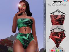 """January Patreon CC lynxsimz: """" 💖⭐ Join me on Patreon for ad free, early releases and exclusive cc & other fun content !⭐💖 Feel Me Gown Baddie Bikini Powder Jeans Frilly Pjs Bright Underwear. Sims 4 Mods Clothes, Sims 4 Clothing, Sims 4 Cas, Sims Cc, Sims 4 Dresses, Teen Dresses, Sims 4 Body Mods, The Sims 4 Skin, Girl Facts"""