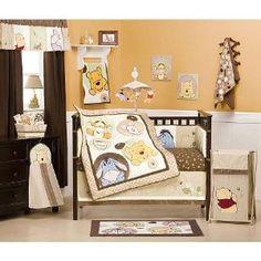 Winnie the Pooh Peekaboo Pooh Crib Bedding 4-piece Set