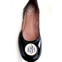 tory monogramed shoes - yes please