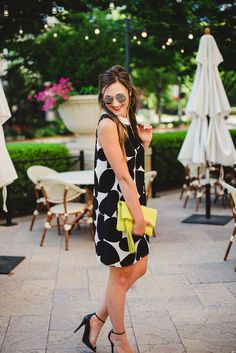Black and White heart dress | Cece dress