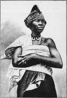 HAUSA WOMAN TRADER