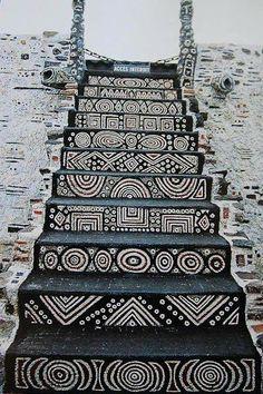 Szokatlan Lépcsőház Art - Unusual Staircase Art