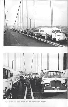 Teste de Carga na Ponte sobre o Tejo - 6 DE AGOSTO 1966 - 013