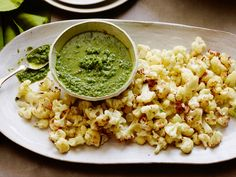 Get this all-star, easy-to-follow Roasted Cauliflower with Herb-Caper Sauce recipe from Food Network Kitchen