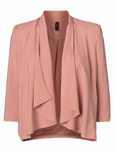Elegant VERO MODA SWAN BLAZER! Wear it to work or for your next evening event. #veromoda #blazer #pink #fashion @Veronica MODA