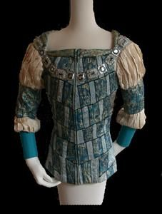 Tunic worn by Rudolf Nureyev as Romeo in Act I scene 4 of The Royal Ballet production of 'Romeo and Juliet' (1965)