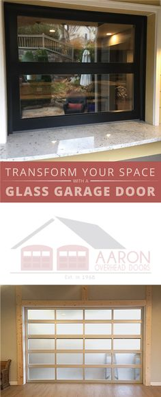 Full View Glass Doors are an elegant addition to any home. Small doors can be used to create an indoor/ outdoor entertaining space.