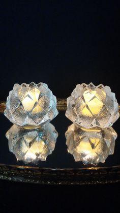 Swedish Orrefors Crystal Artichoke Firefly by frankiesfrontdoor, $58.00