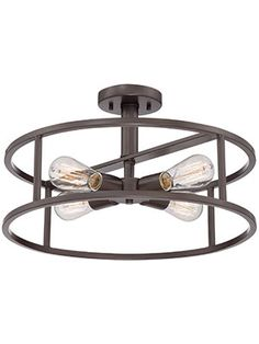 house of antique hardware :: new harbor semi flush mount ceiling light   ** it looks so industrial but still so old and vintage and awesome... would be great and super simple in the upstairs hallway **