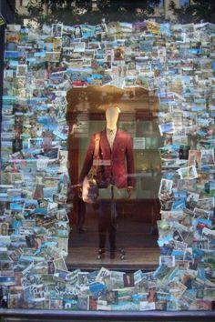 Paul Smith postcard windows Fifth Avenue www.mim-pi.com ansichtkaarten etalage