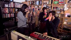 Did you know that Brass Bed used plastic novelty microphones to create instant reverb when they performed at NPR's Tiny Desk? Catch the band in their hometown when they perform a free show on the Levitt AMP Lafayette stage tomorrow night at 6:30 p.m.!