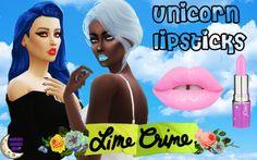 Sims 4 CC's - The Best: UNICORN LIPSTICKS by MysticKitty
