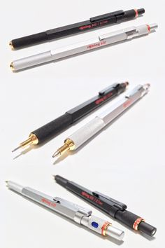 Vintage Brass Bamboo Joint Gel Pen Detachable Metal Rollerball Pen Collection