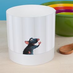 DIY Ratatouille Chef Hat...but I can't seem to find the pattern they mention using. Cute though!