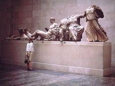 The Elgin marbles - British Museum, London