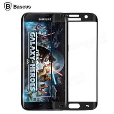 Baseus 0.3mm 3D Curve Full Tempered Glass Screen Protector For Samsung Galaxy S7 Edge Sale - Banggood.com