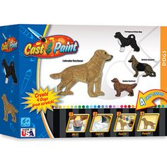 Cast & Paint Kit, Dog