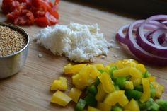 Pizza Quinoa Pasta Salad