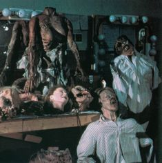 Must be the storeroom of the Evil Dead 2 set Evil Dead Series, Evil Dead 2013, King Baby, Picture Movie, Dark Beauty, Special Effects, Film Movie, Horror Movies, Behind The Scenes