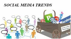 Social media trends improves the visibility of website throughout the web.