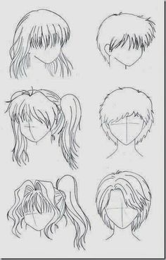 How to Draw For Beginners Step by Step - hairstyles
