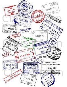 Another Passport Stamp idea