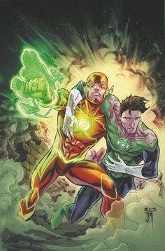 Flash & Green Lantern by Francis Manapul