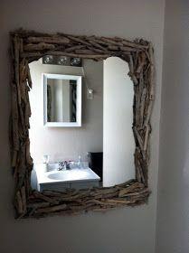 Καιόχι μόνο της θάλασσας . Χρησιμοποιείστε κάθε είδους παλιό ξύλο που μπορεί να βρείτε πεταμένο οπουδήποτε ή και λεπτά κλαράκια/ κ...
