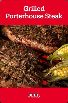 A classic steak with a classic rub. You're sure to have a perfectly shareable result. Easy Campfire Meals, Campfire Food, Campfire Recipes, Steak Recipes, Dinner Tonight, Garlic, Grilling, Herbs