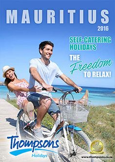 Mauritius Self-Catering Brochure Top Destinations, Mauritius, Brochures, Catering, Africa, Holiday, Vacations, Catering Business, Gastronomia