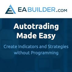 """Create Indicators and Strategies without Programming  MetaTrader 4  5 Supported TradeStation EasyLanguage Supported Create Unlimited Indicators for Free Create Strategies with a One-Time Upgrade Video Tutorials  """"Custom Arrows and Alerts"""" """"Automated Trading System"""" """"Trade Just About Anything""""  What's Inside? It's Quick  Easy! The best thing about EA Builder is that the work is pretty much done in a few clicks.   """"""""""""""""""""""""""""""""""""""""  read more...? click link in image  """""""""""""""""""""""""""""""""""""""" Video Tutorials, Arrows, Programming, Make It Simple, Read More, Good Things, Tools, Create, Link"""