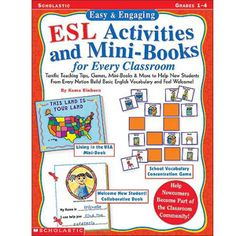 Easy & Engaging ESL Activities and Mini-Books for Grades 1-4