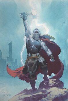 Thor process by Esad Ribic *