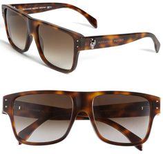 d230309f024 Alexander McQueen Retro Inspired Sunglasses Alexander Mcqueen Sunglasses