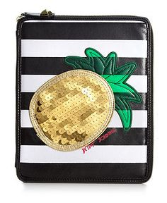 OMG its an iPad case and it has a pineapple on it. MUST HAVE!