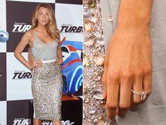 Blake Lively   Biggest Celebrity Engagement Rings   Everywhere