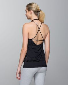 Being on the mat is all about coming back to the present moment. We designed this flowing, airy tank with lightweight Mesh fabric to keep us comfortably covered and feeling as open as our minds.