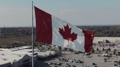 Free Stock Video, Free Library, Flag, Canada, Flags
