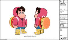 Steven Crewniverse Behind-The-Scenes Universe: A selection of Character, Prop, and Effect designs...