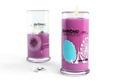 Please do not attempt to eat this delicious looking pink candle, it will not taste the same as the real thing. - $24.95