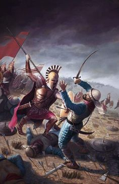 'How glorious fall the valiant, sword in hand, in front of battle for their native land!'  ~ Spartan poet Tyrtaeus