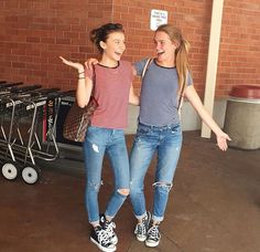 G Hannelius / Taylar Hender Twin Outfits, Cute Teen Outfits, Outfits For Teens, Stylish Outfits, Best Friend Outfits, Girls Best Friend, Spring Outfits, Winter Outfits, G Hannelius