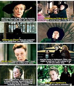 Happy birthday to the Queen of Sass, Dame Maggie Smith, who played Minerva McGonagall in the Harry Potter films.