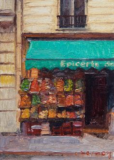 little paris paintings by paul ferney