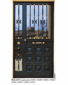 Metal Doors, Door Gate Design, Iron Decor, Wrought Iron, Modern Door Design, Metal Gates