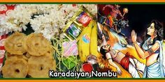 Karadaiyan Nombu Pooja Dates And Puja Timings From 2018 to 2030
